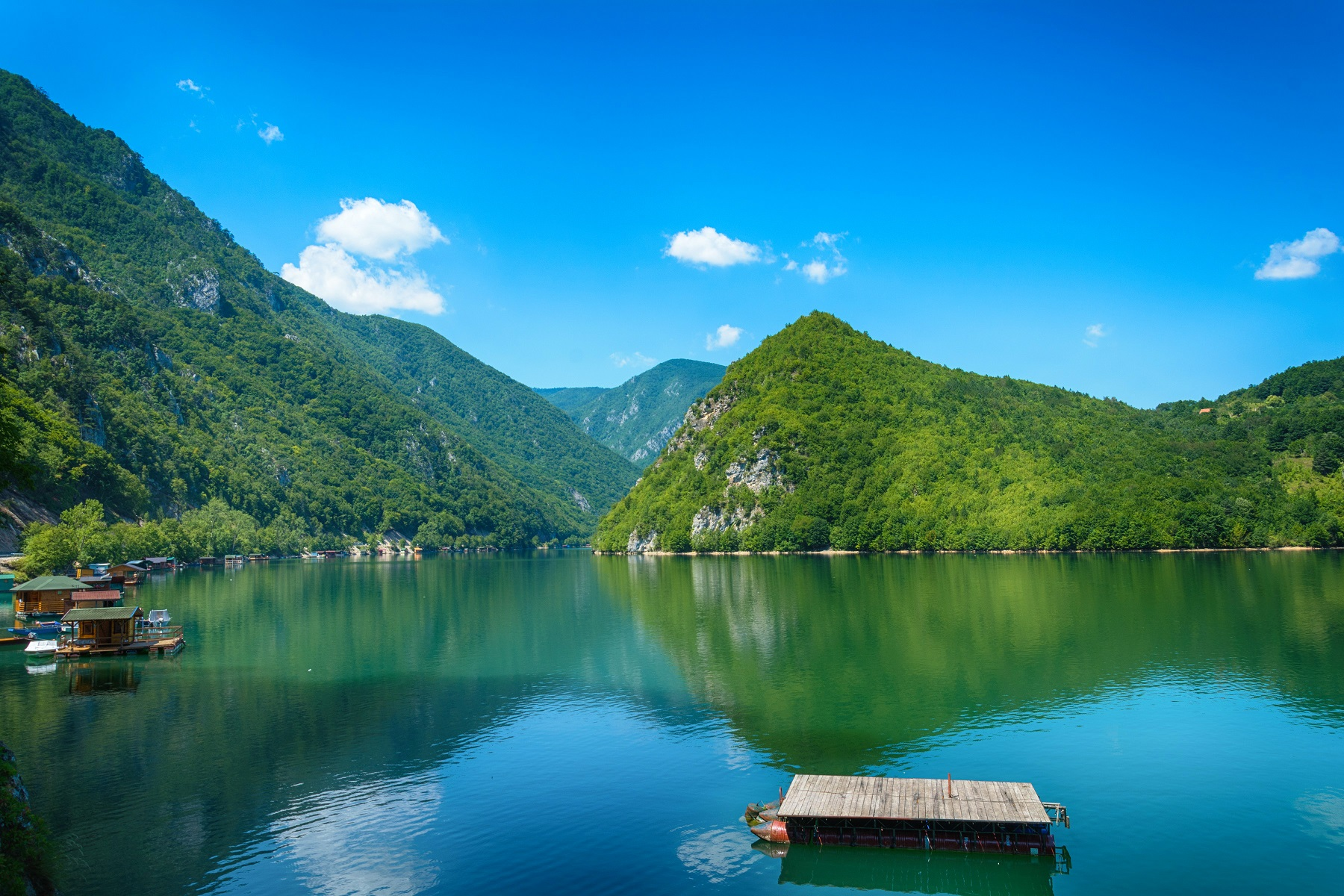 Drina river,Serbia tour