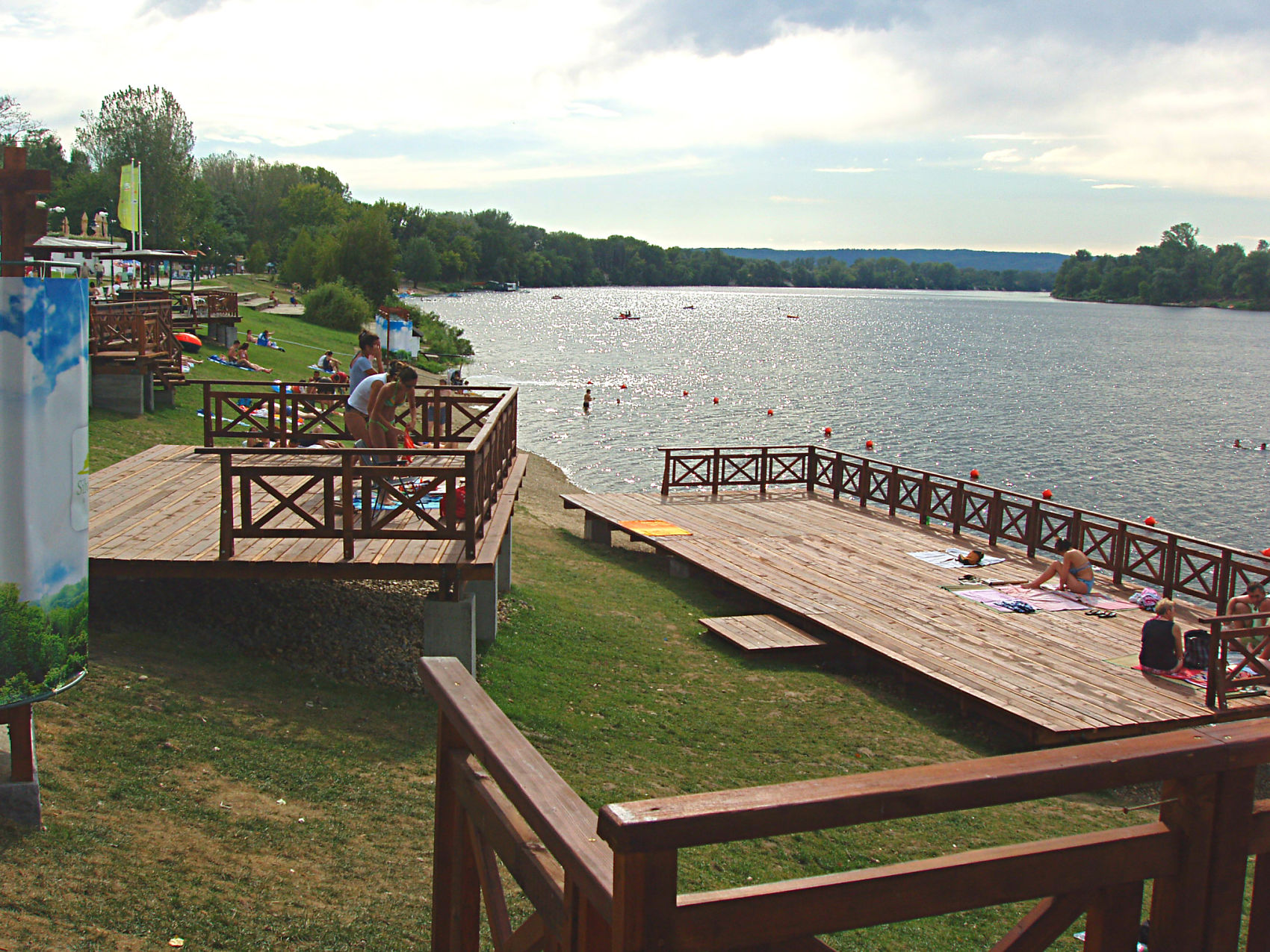 Silver lake near Viminacium, tour from Belgrade