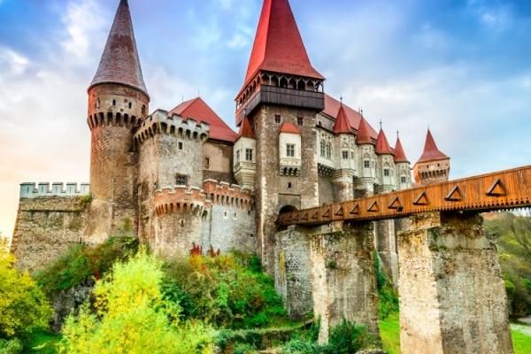 Corvin castle a part of Eastern Balkan tour