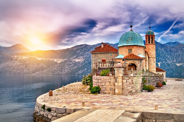 Montenegro tour Our Lady of the rocks
