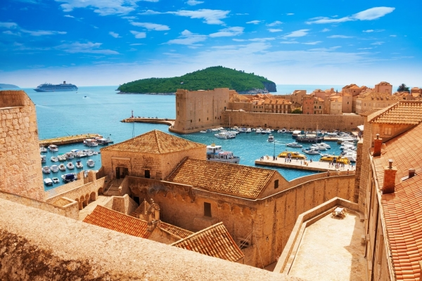 Dubrovnik fortress and old city tour